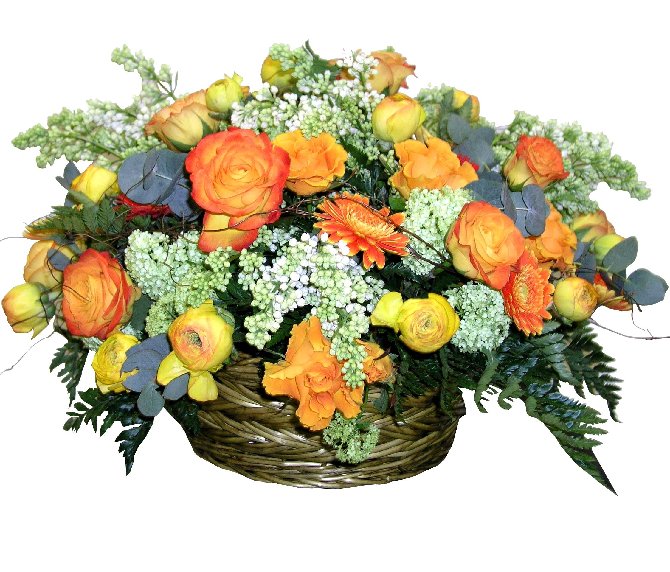 """Basket Arrangement """"Autumn Etude"""""""