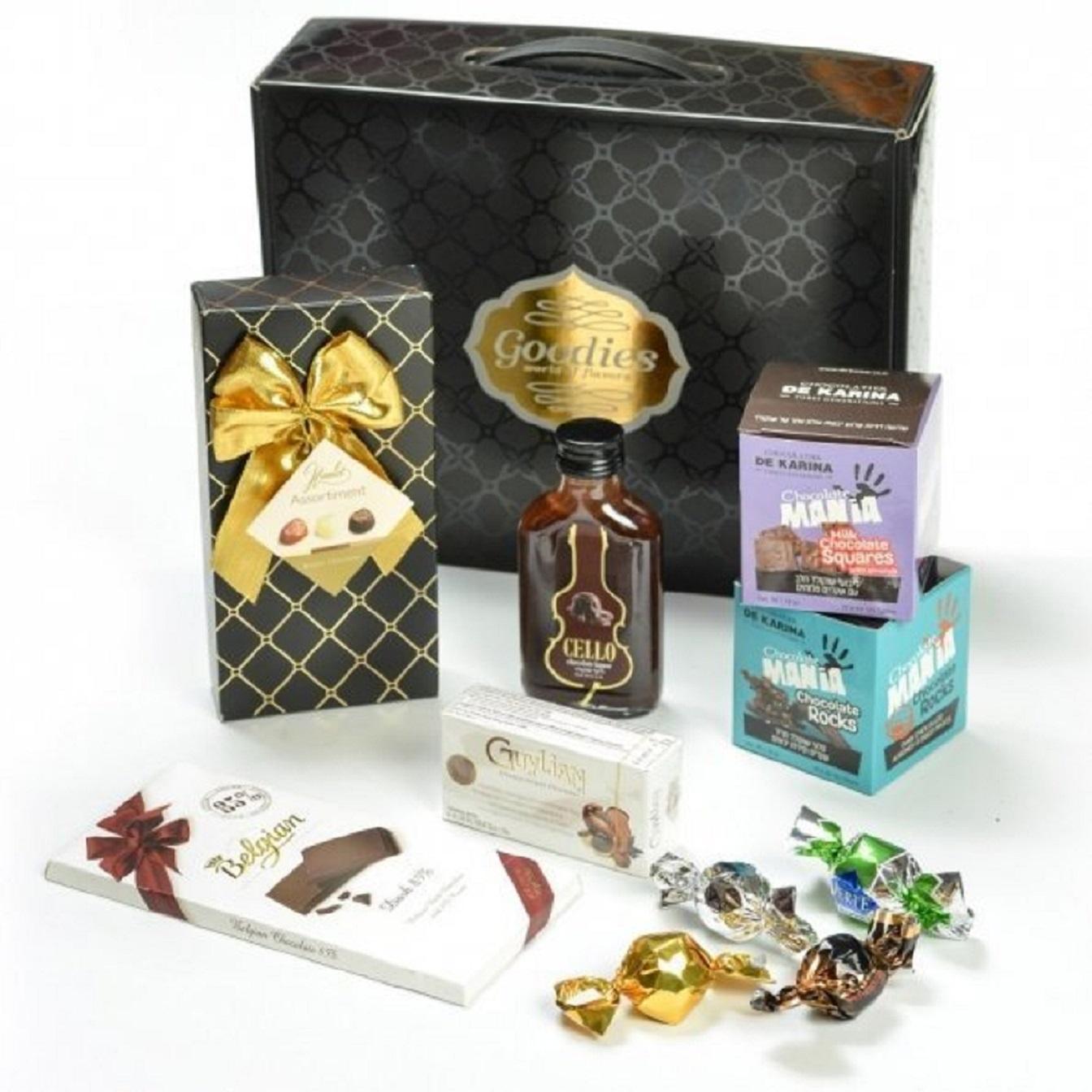 Elegant box of chocolates